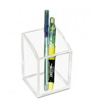 Kantek Clear Acrylic Pencil Cup