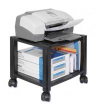 Kantek 2-Shelf Underdesk Printer Cart, Black