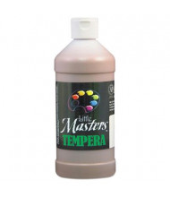 Little Masters 16 oz Tempera Paint, Brown