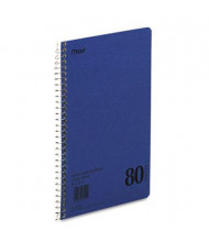 """Mead 6"""" X 9-1/2"""" 80-Sheet College Rule Notebook, Blue Cover"""