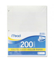 """Mead 8-1/2"""" x 11"""", 200-Sheets, College Rule Economical Filler Paper"""