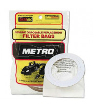 Metro DataVac Replacement Bags for Handheld Steel Vacuum & Blower, 5/Pack