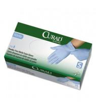 Curad Small Powder-Free Nitrile Exam Glove, Blue, 150/Box