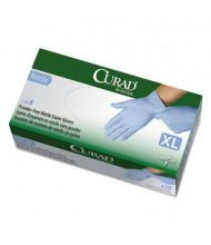 Curad X-Large Powder-Free Nitrile Exam Glove, Blue, 130/Box