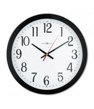 "Howard Miller 16"" Gallery Wall Clock, Black"