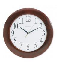 "Howard Miller 12.8"" Corporate Wall Clock, Cherry"