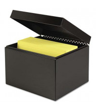 "SteelMaster Index Card File Holds 900 6"" x 9"" Cards"