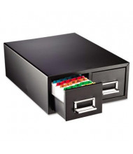 """SteelMaster 16"""" Drawer Card Cabinet Holds 3000 5"""" x 8"""" Cards"""