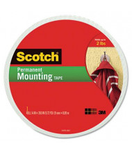 "Scotch 3/4"" x 350"" Permanent Foam Mounting Double-Sided Tape"