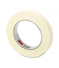 """Highland 3/4"""" x 60 yds Economy Masking Tape, 3"""" Core, Cream"""