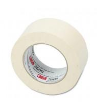 """Highland 2"""" x 60 yds Economy Masking Tape, 3"""" Core, Cream"""