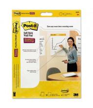 "Post-It Self-Stick 20"" X 23"", 20-Sheet, 2-Pack, Unruled Wall Pads"
