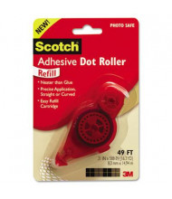 """Scotch 3/10"""" x 588"""" Refillable Adhesive Dot Roller"""