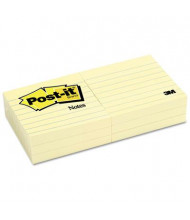 """Post-It 3"""" X 3"""", 6 100-Sheet Pads, Canary Yellow Notes"""