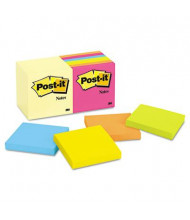 """Post-It 3"""" X 3"""", 14 100-Sheet Pads, Canary Yellow & Cape Town Notes"""