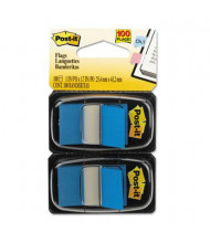 """Post-It 1"""" x 1-3/4"""" Marking Flags, Blue, 600 Flags/Pack"""