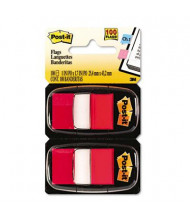 """Post-It 1"""" x 1-3/4"""" Marking Flags, Red, 600 Flags/Pack"""