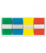 """Post-It 1"""" x 1-3/4"""" Portable Page Flags, Assorted, 160 Flags/Pack"""