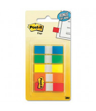 """Post-It 1/2"""" x 1-3/4"""" Portable Page Flags, Assorted, 100 Flags/Pack"""