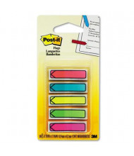 """Post-It 1/2"""" x 1-3/4"""" Arrow Page Flags, Bright Assorted, 100 Flags/Pack"""