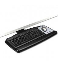 "3M 21-3/4"" Lever Adjustable Standard Keyboard Tray, Black"