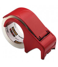"""Scotch Compact and Quick Loading Dispenser for Box Sealing Tape, Red, 3"""" Core"""