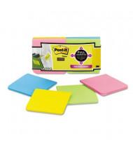 "Post-It 3"" X 3"", 12 25-Sheet Pads, Rio de Janeiro Color Super Sticky Notes"