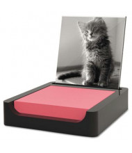 "Post-It Note Holder Photo Frame for 3"" x 3"" Pads, Black"