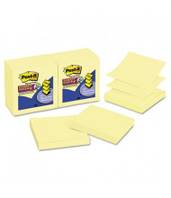 """Post-It 3"""" X 3"""", 12 90-Sheet Pads, Canary Yellow Pop-Up Notes"""