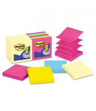 """Post-It 3"""" X 3"""", 14 100-Sheet Pads, Canary Yellow & Cape Town Pop-Up Notes"""