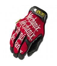 Mechanix Wear The Original Large Work Gloves, Red/Black