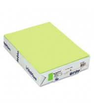 "Mohawk BriteHue 8-1/2"" X 11"", 20lb, 500-Sheets, Ultra Lime Multipurpose Colored Paper"