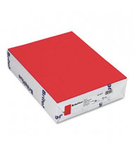 "Mohawk BriteHue 8-1/2"" X 11"", 24lb, 500-Sheets, Red Multipurpose Colored Paper"