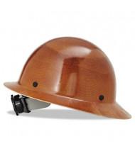 MSA Skullgard Ratchet Suspension Protective Hard Hat, Size 6-1/2 to 8, Natural Tan