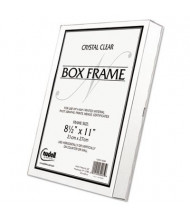 "NuDell 8.5"" W x 11"" H Box Frame, Clear"