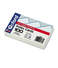 """Oxford 3"""" x 5"""", 150-Cards, Grid Index Cards"""