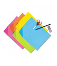 """Pacon Colorwave 12"""" x 18"""" 100-Pack Assorted Super Bright Tagboard"""