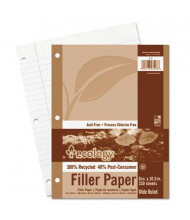 """Pacon 8"""" x 10-1/2"""", 150-Sheets, Wide Rule Ecology Filler Paper"""