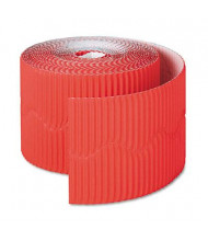 "Pacon Bordette 2-1/4"" x 50 ft. Flame Red Decorative Border Roll"