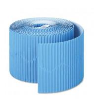 """Pacon Bordette 2-1/4"""" x 50 ft. Brite Blue Decorative Border Roll"""