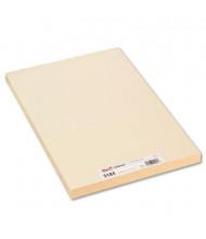 """Pacon 18"""" x 12"""" 100-Pack Manila Medium Weight Tagboards"""