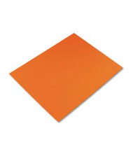 """Pacon 28"""" x 22"""" 25-Pack Orange Four-Ply Poster Boards"""