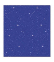 "Pacon Fadeless Designs 48"" x 50 ft. Night Sky Bulletin Board Paper Roll"