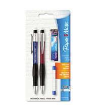 Paper Mate ComfortMate #2 0.5 mm Blue & Red Plastic Mechanical Pencil Starter Set