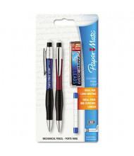 Paper Mate ComfortMate #2 0.7 mm Blue & Red Plastic Mechanical Pencil Starter Set