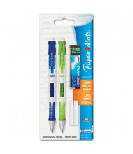 Paper Mate Clear Point #2 0.9 mm Assorted Colors Plastic Mechanical Pencils, 2-Pack