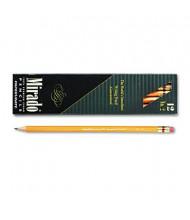 Paper Mate Mirado #2 Yellow Woodcase Pencils, 12-Pack