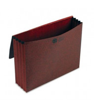 """Pendaflex Letter 3-1/2"""" Expansion Standard Wallet with Closure, Red"""