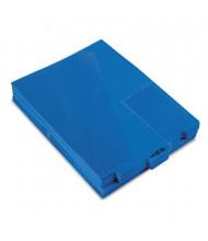 Pendaflex Letter Center Tab Out File Guides, Blue, 50/Box