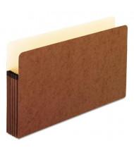 """Pendaflex Legal 5-1/4"""" Expansion File Folder Pocket, Red, 10/Box"""